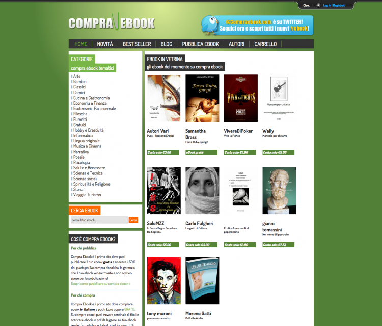 Compra Ebook | Vendi e compra ebook