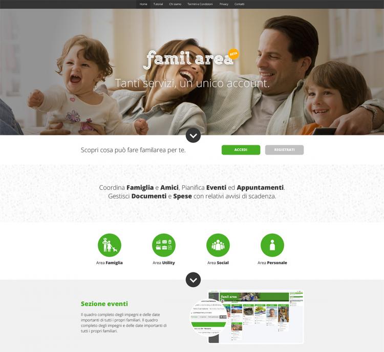 Familarea | Tanti servizi un unico account