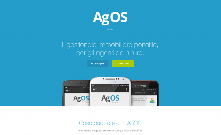 AgOS Mobile   Landing Page