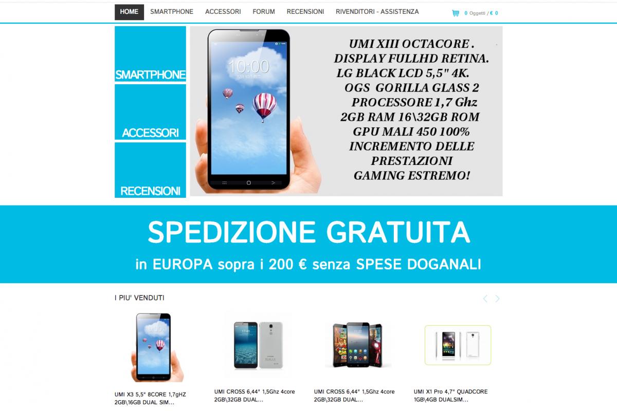 UMI Store | eStore di smartphone