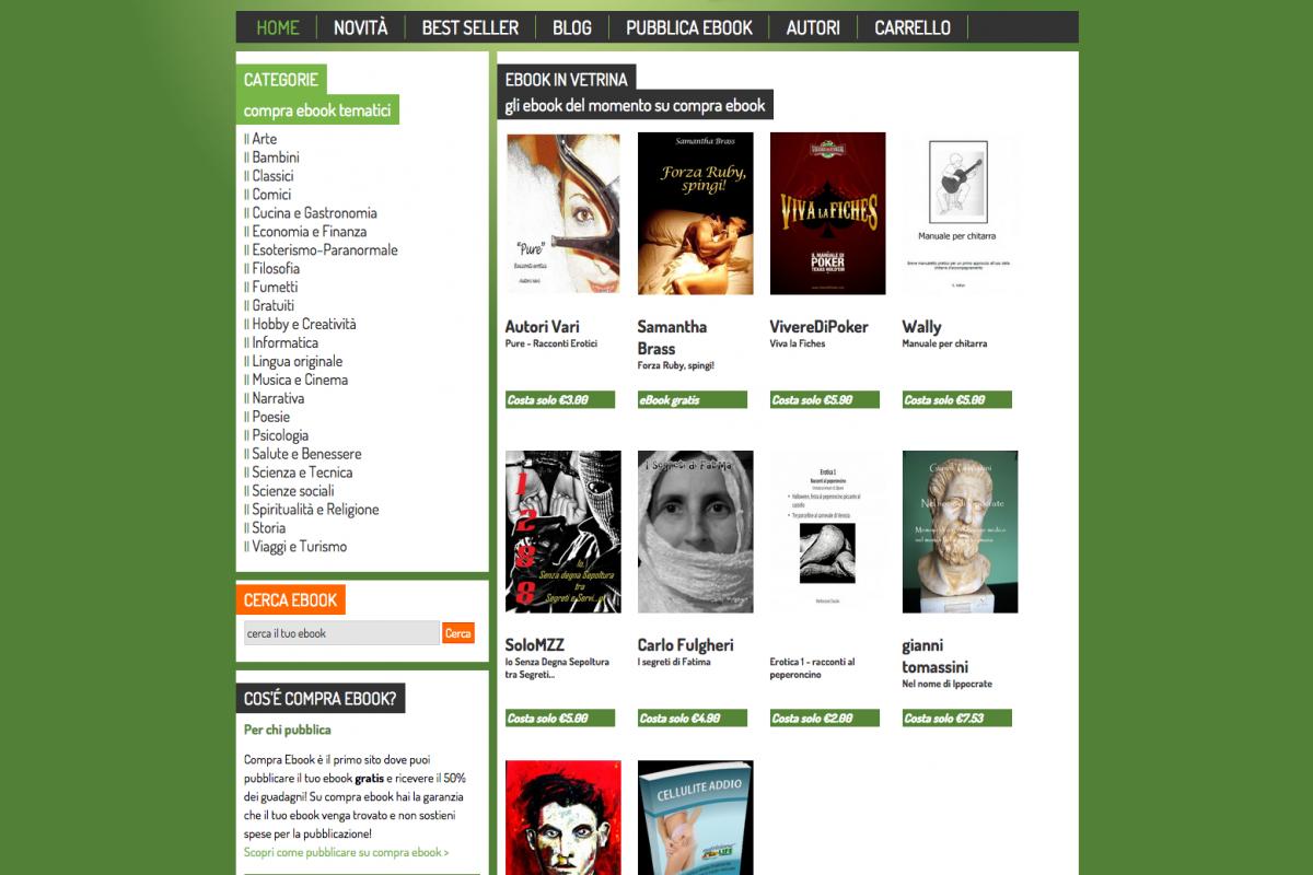Compra Ebook | Vendi e compra ebook