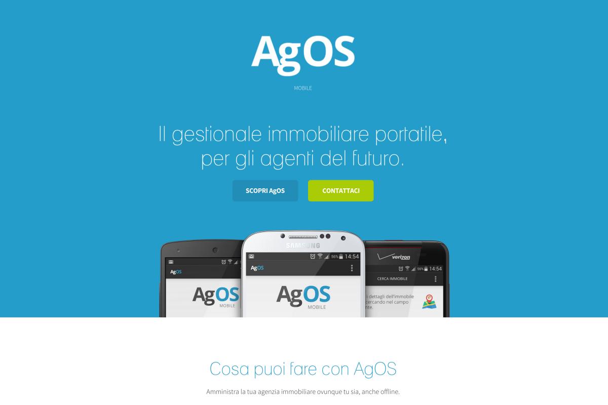 AgOS Mobile | Landing Page